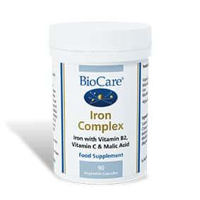 Biocare Iron Complex 90 Veg Caps