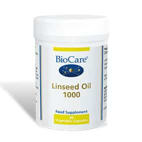 Biocare Linseed Oil 1000 90 Veg Caps