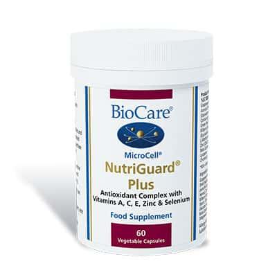 Biocare MicroCell NutriGuard Plus 60 Veg Caps