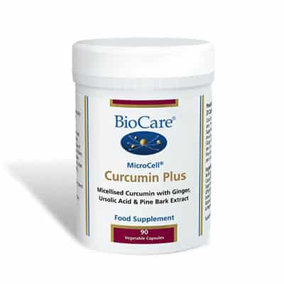 Biocare Microcell Curcumin Turmeric Complex 90 Veg Caps