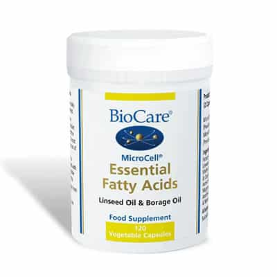 Biocare MicroCell Essential Fatty Acids 120 Veg Caps