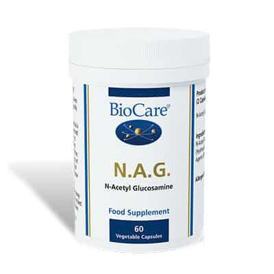 Biocare N.A.G. (N-Acetyl Glucosamine) 60 Veg Caps