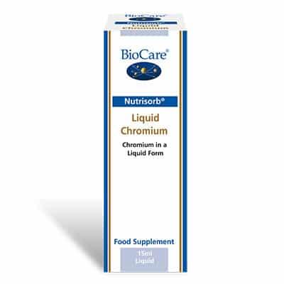 Biocare NutriSorb Liquid Chromium 15ml