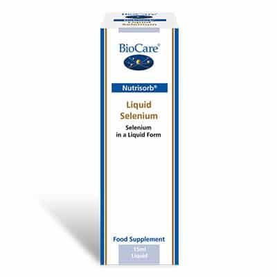Biocare NutriSorb Liquid Selenium 15ml