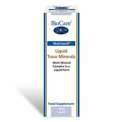 Biocare NutriSorb Liquid Trace Minerals 15ml
