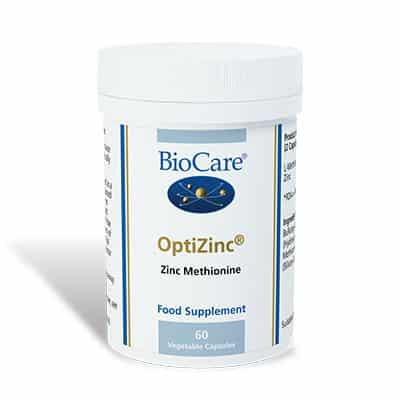 Biocare OptiZinc 60 Veg Caps