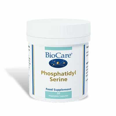 Biocare Phosphatidyl Serine 30 Veg Caps