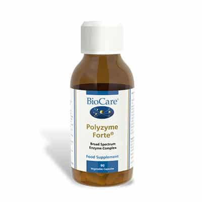 Biocare Polyzyme Forte 90 Veg Caps