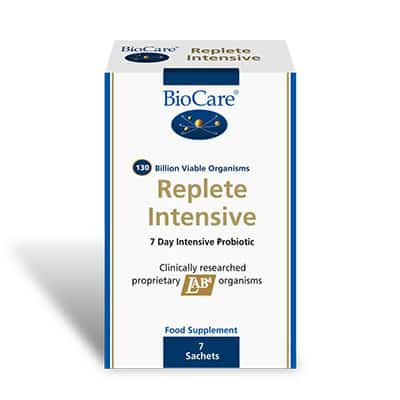 Biocare Replete Intensive Probiotic Pack 7 days Powder Sachets