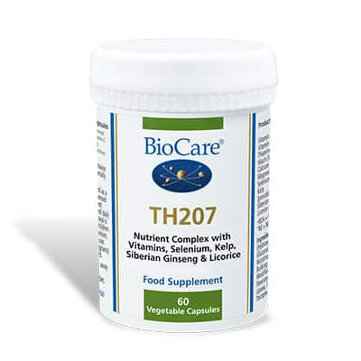 Biocare TH207 Thyroid Support 60 Veg Caps