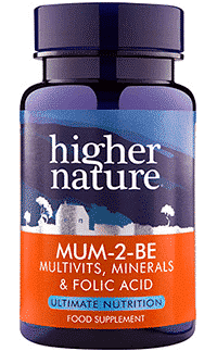 Higher Nature Mum 2 Be 90 tabs