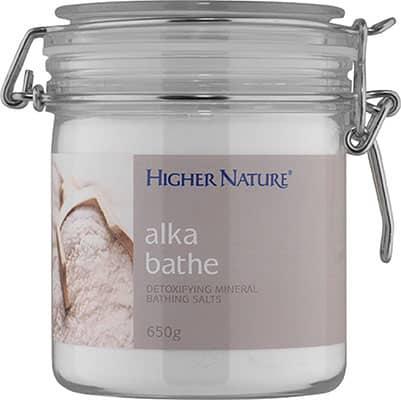 Higher Nature Alka Bathe Detox Salts 650g