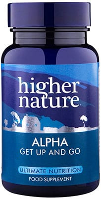 Higher Nature Alpha (ALA + ALC) 90 caps