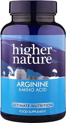 Higher Nature Arginine 120 caps