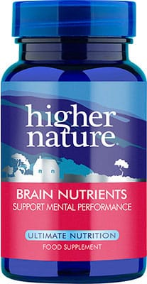 Higher Nature Advanced Brain Nutrients 90 caps