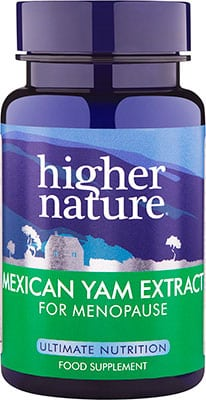 Higher Nature Concentrated Mexican Yam 90 caps
