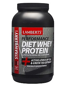 Lamberts Diet Whey Protein Strawberry