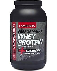 Lamberts Whey Protein Powder Strawberry