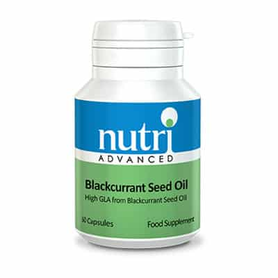 Nutri Blackcurrant Seed Oil Caps 60 caps