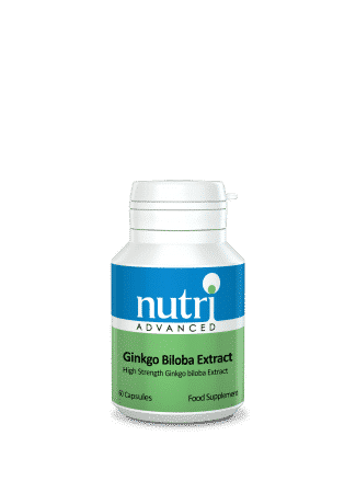 Nutri Ginkgo Biloba Extract 60 caps