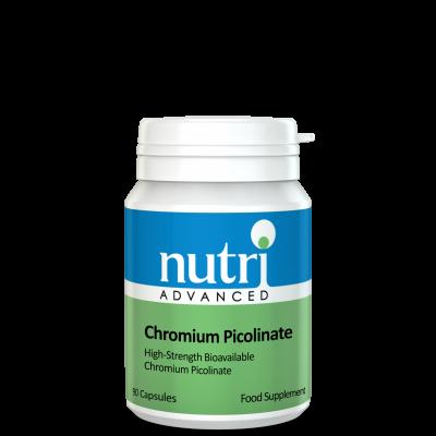 Nutri Chromium Picolinate (Polynicotinate) 90 caps