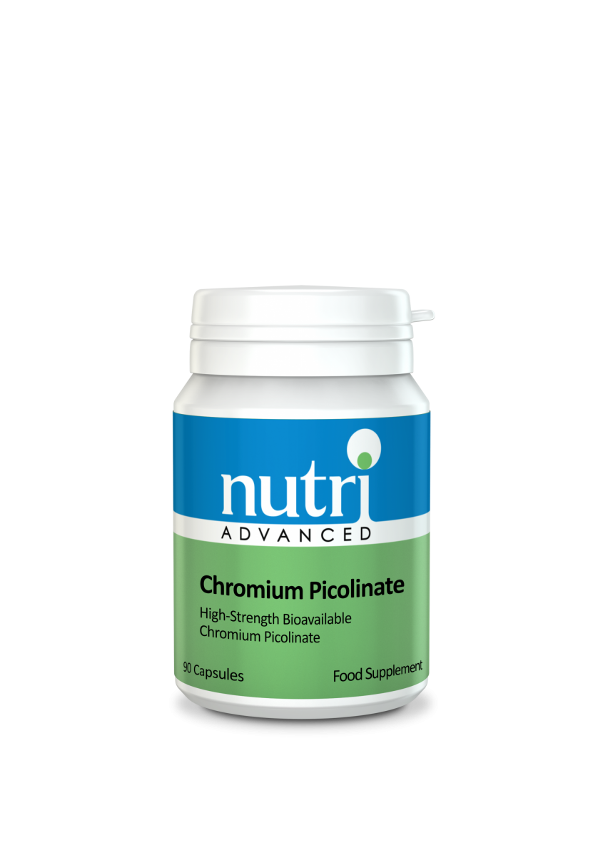 Nutri Chromium Picolinate (Polynicotinate) 90 caps