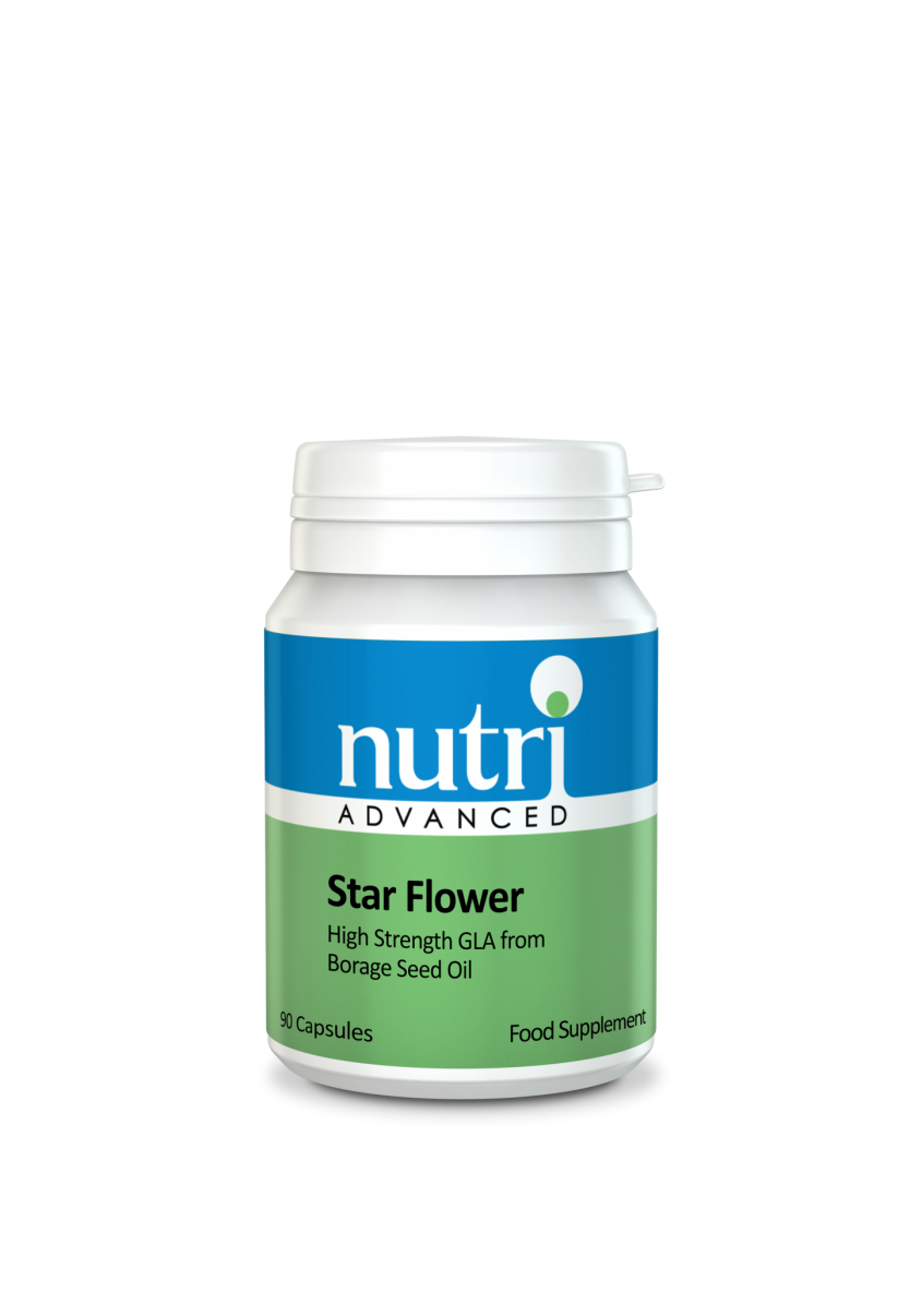 Nutri Star Flower Borage Seed Oil 90 caps