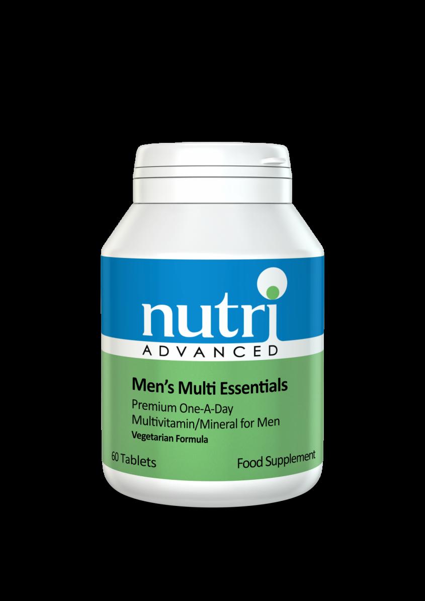 Nutri Multi Essentials - Men's 60 tabs