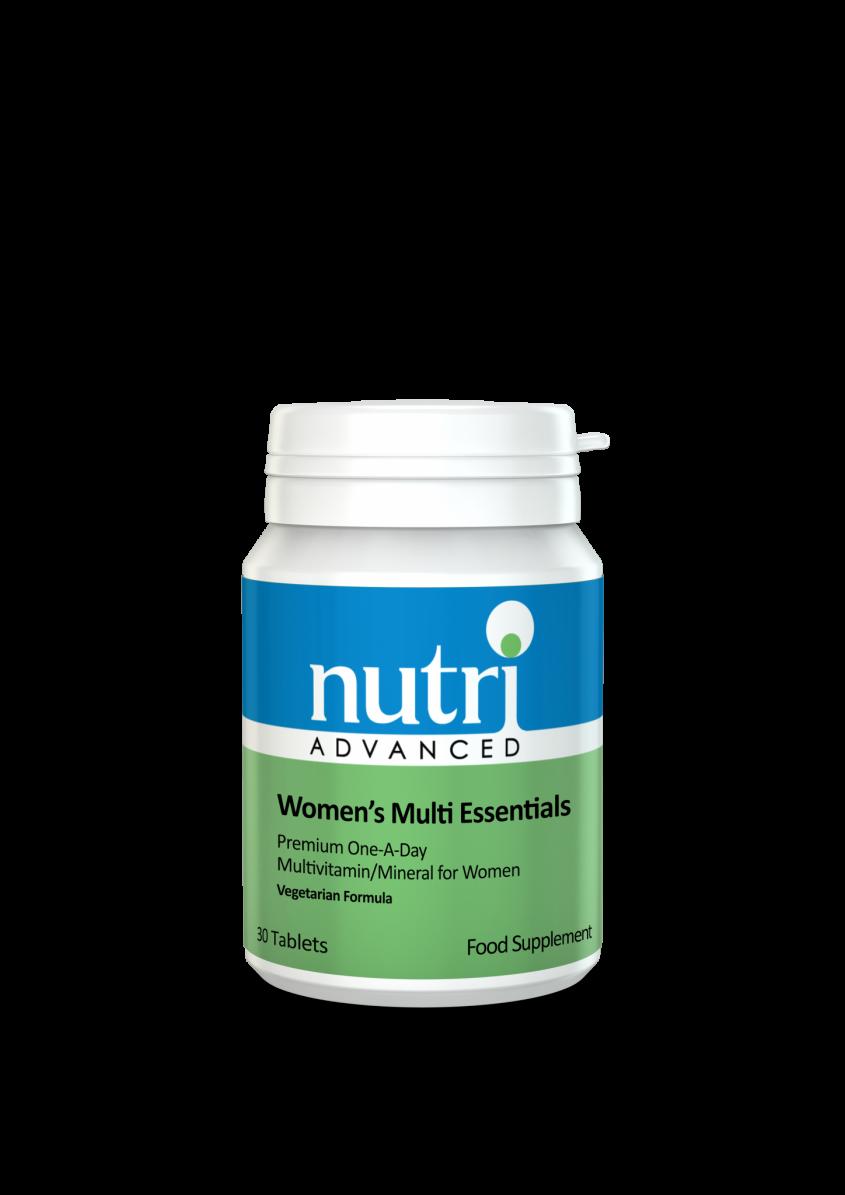 Nutri Multi Essentials - Women's 30 tabs