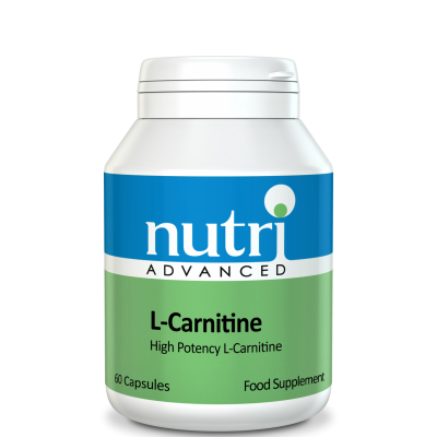 Nutri L-Carnitine 500mg 60 caps
