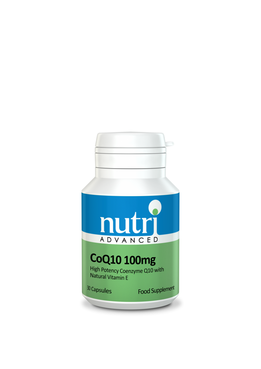 Nutri CoQ10 100mg 30 caps