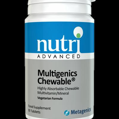 Nutri MultiGenics Chewable 90 tabs