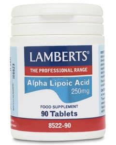 Lamberts Alpha Lipoic Acid 250mg 90 tabs