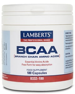 Lamberts BCAA (Branched Chain Aminos) 180 caps