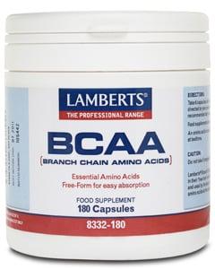 Lamberts BCAA (Branched Chain Aminos) 180 caps