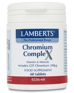 Lamberts Chromium Complex (NormoGlycemia) 60 tabs