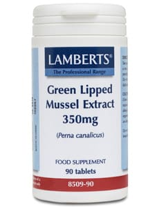 Lamberts Green Lipped Mussel Extract 90 tabs