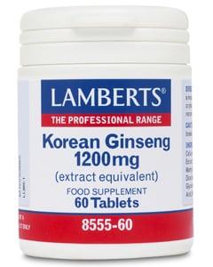 Lamberts Korean Ginseng 60 tabs