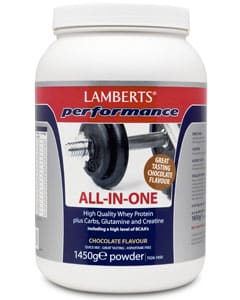 Lamberts Performance All in one Chocolate Flavour Sports Shake