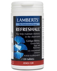Lamberts Refreshall Memory Support 120 tabs