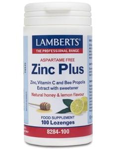 Lamberts Zinc Plus Lozenges 100 lozenges