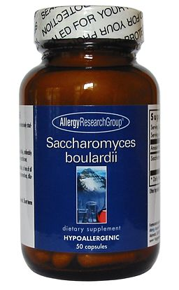 Allergy Research Saccharomyces Boulardii 50 veg caps