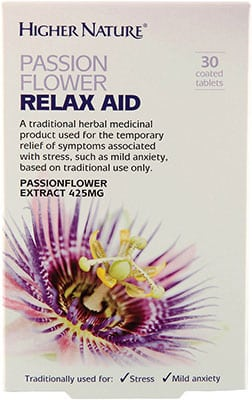 Be_Smart_Supplement_Shop_Higher_Nature_Passion-Flower-Relax-Aid
