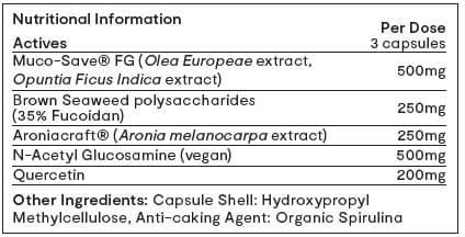 Invivo Bio Revive Mucin+ 90 capsules table